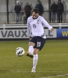 Josh Payne making his England debut last year
