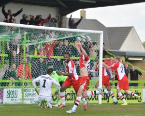 Goddard fires Woking into a 2-1 lead at FGR
