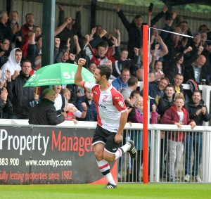 Sole smashes home in Woking's 6-1 victory