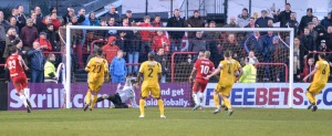Welling beat The Cards 3-0 last time they visited Park View Road