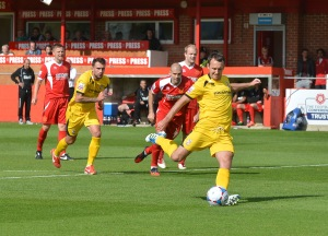 Gavin Williams draws Woking level at Alfreton last season