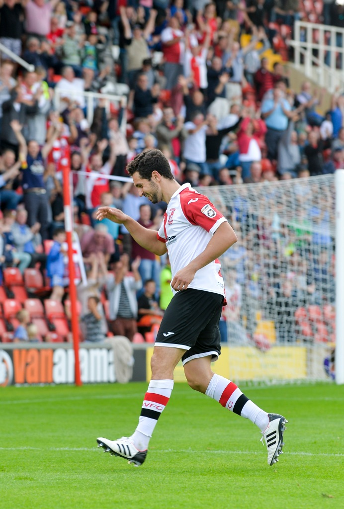 Sole bags the winner vs Chester last Saturday