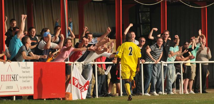 Woking draw level at Hythe