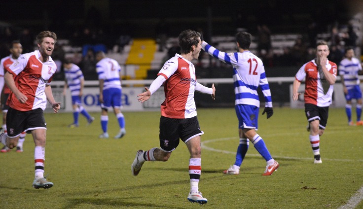 Goddard fires Woking past Oxford City in midweek