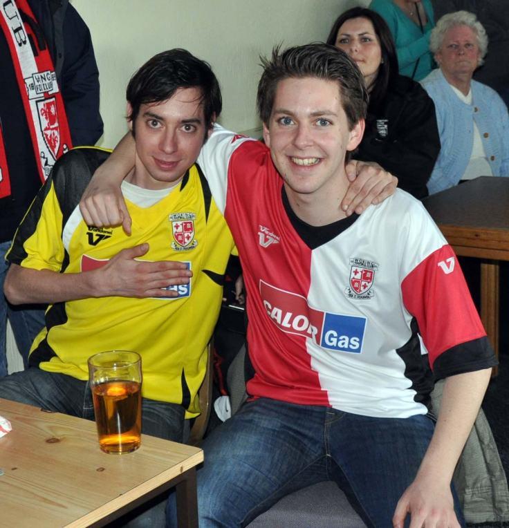 Robert and Noud at Kingfield