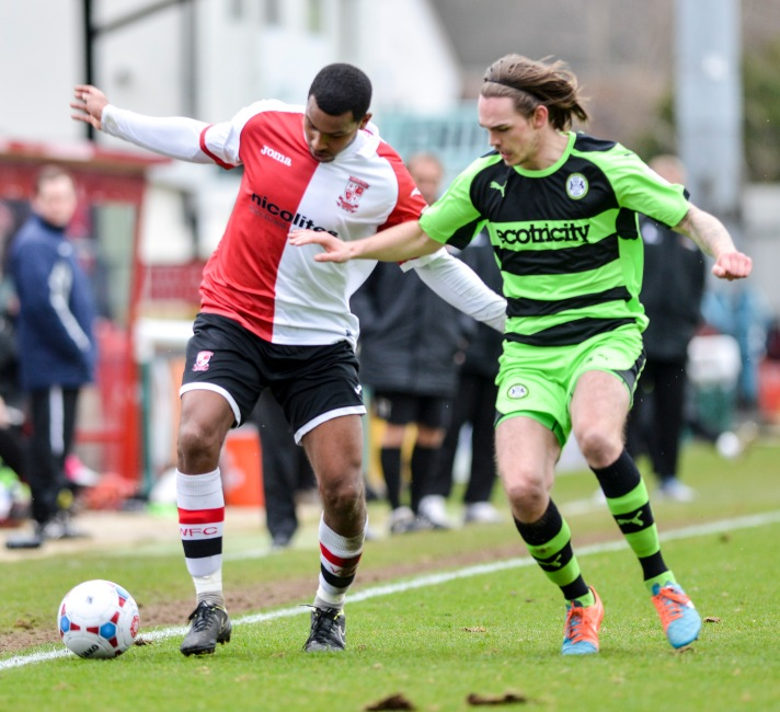 Forest Green's last visit to Kingfield ended in a 1-0 win for The Cards