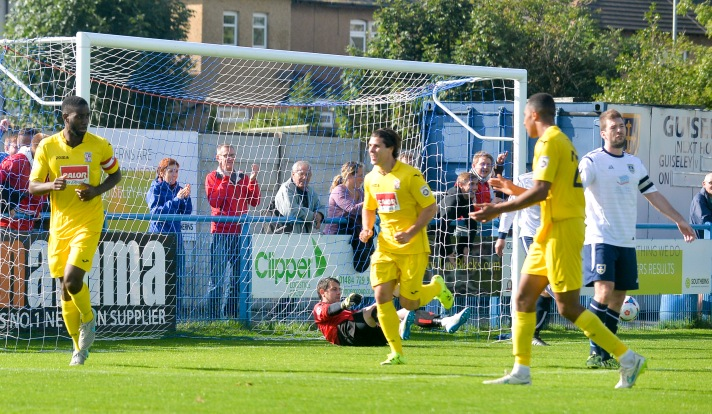 Saah picks up his first goal of the season during Saturday's 4-4 draw