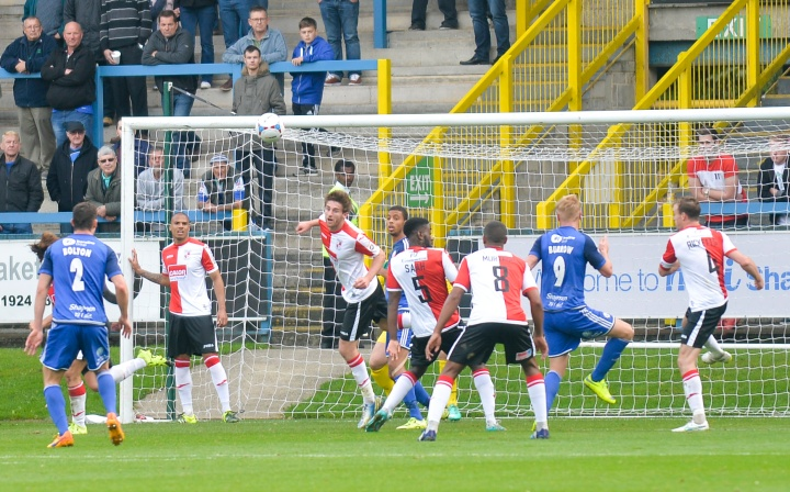 Woking clear at corner at Halifax Town - The club with the most expensive National League season ticket