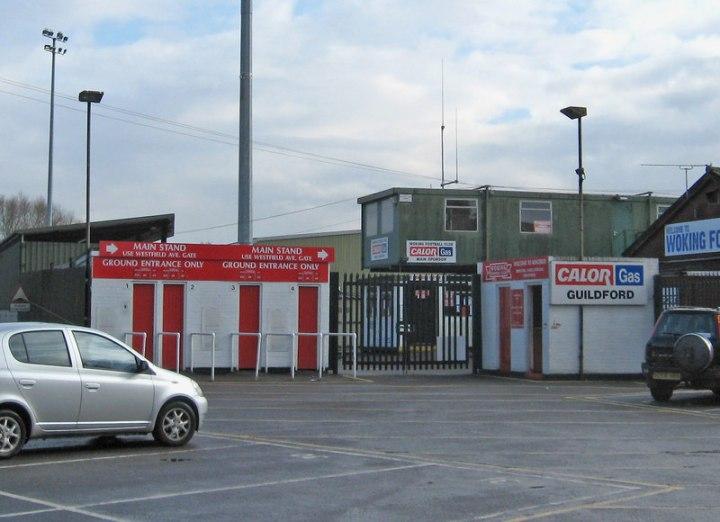 Woking_Football_Club_-_entrance_to_ground_at_Kingfield_Stadium_-_geograph.org.uk_-_1779629